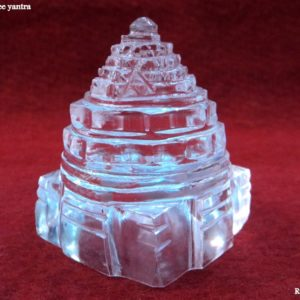 Shree yantra in pure sphatik