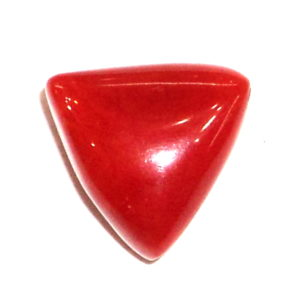 Red Coral - Triangular