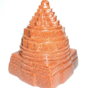Shree Yantra In Sun Stone