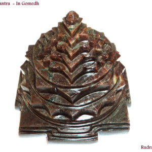 Shree Yantra Made In Natural Gomed