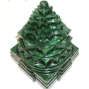 Shree Yantra In Green Jade