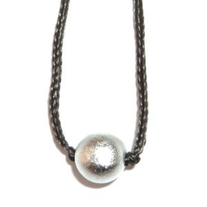 Parad Bead Pendant In Strong Thread