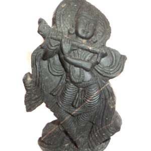 Muralidhar Murti Carved on Sudarshan Shaligram