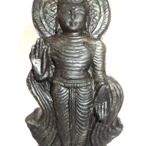 Lord Buddha Murti Carved on Sudarshan Shaligram