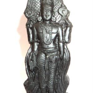 Venkateshwara Idols Carved On Natural Shaligram