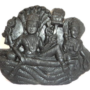 Anantha Shayanam Murti Carved on Sudarshan Shaligram