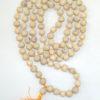 White Tulsi Beads Mala - 109 Beads