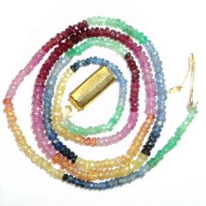 MultiColor Rainbow Necklace